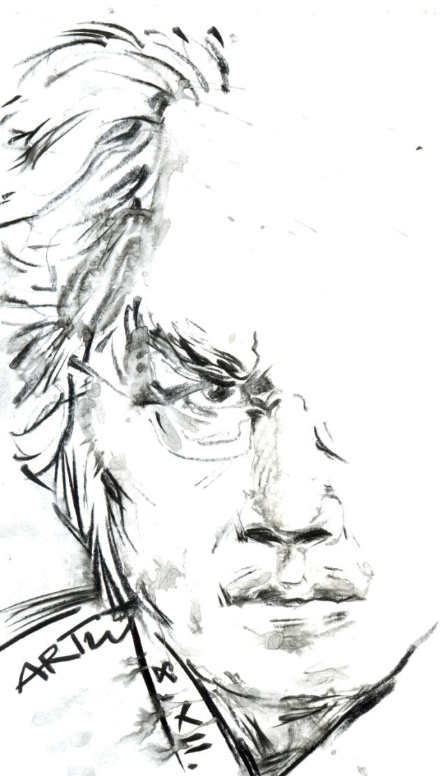 Am 8. Dezember 1832 wurde der norwegische Dichter und Literaturnobelpreisträger von 1903 Bjørnstjerne Bjørnson geboren.Zeichnung: ARTus