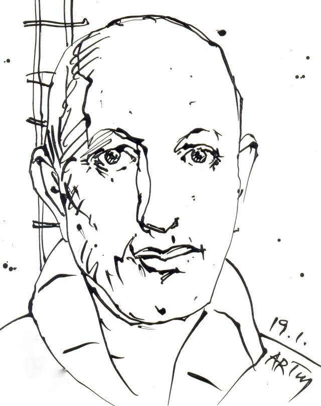 Am 19. Januar 1938 - vor genau 75 Jahren - starb der am 28.12.1883 geborene Zeichner Paul Holz.