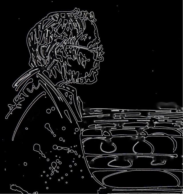 Am 7. Mai beging der Dichter Volker Braun seinen 75. Geburtstag. Zeichnung: ARTus