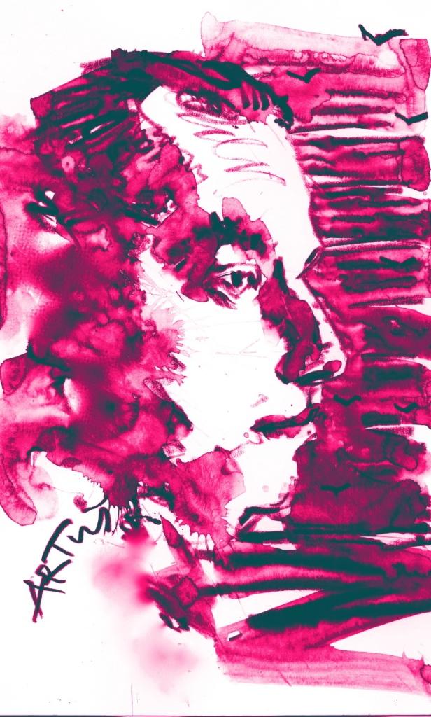 Tucholsky-Zeichnung