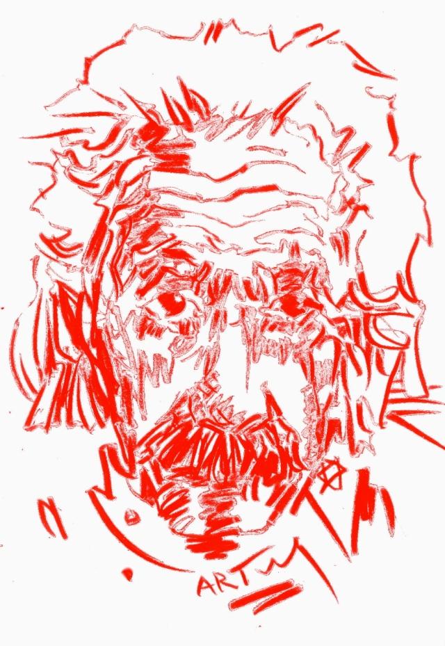 Der18. April warder 60. Todestag von Albert Einstein. Bildbearbeitung: ARTus