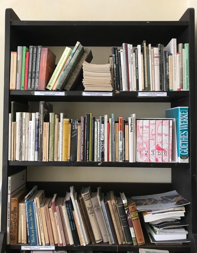 Ex libris pom-lit: Uwe Lummitsch und Michael Gawenda